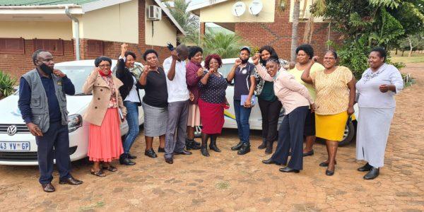 PEU NATIONAL RECRUITER, KHOBO DE ,& SSE KHOSA MI VISIT SCHOOLS IN MPUMALANGA